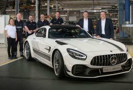 Mercedes a demarat productia lui AMG GT facelift: sportivul este asamblat la uzina din Sindelfingen, Germania