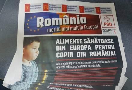 Posta Romana, campanie platita pentru PSD: Pliante alaturi de pensie