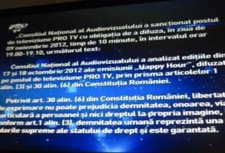 Eveniment istoric in televiziunea romaneasca. Pro TV, Antena 1 si Kanal D si-au intrerupt emisia