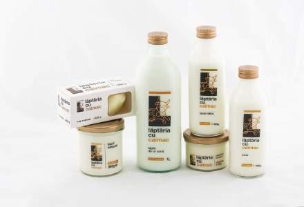 Laptaria cu Caimac, cu peste 500.000 de sticle de lapte si sana vandute in 2018, lanseaza produse noi, intra in 4 retele de retail si extinde exporturie
