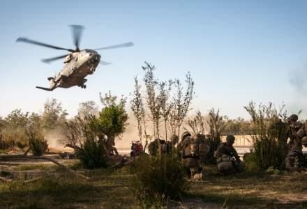 MApN: Patru militari romani raniti in Afganistan; ei au fost internati; starea lor - stabila