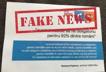 Puterea distribuie pliante false cu siglele USR-PLUS: Sunt fapte PENALE!