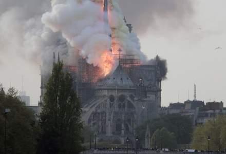 Donatii de 750 de milioane de euro pentru reconstructia Catedralei Notre-Dame din Paris
