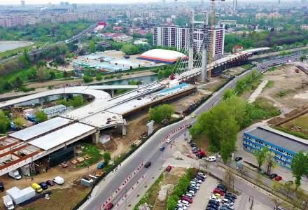 Asociatia Pro Infrastructura: Lucrarile la nodul rutier Virtutii sunt intr-o stare dezastruoasa; proiectul nu va fi gata in 2019 daca nu se actioneaza urgent