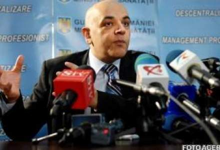 Raed Arafat nu vrea sa fie ministru in viitorul Guvern, pentru ca presupune o functie politica