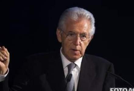 "Monti nu vrea ca Italia sa devina ""cobai"" in planul UE de achizitii de obligatiuni"