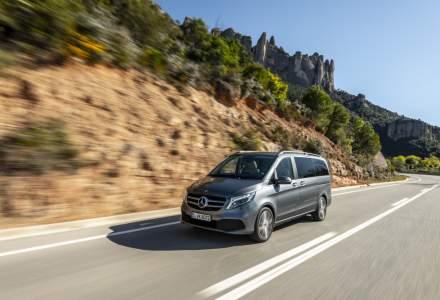 Mercedes-Benz Clasa V a primit un facelift. Interiorul este mai extravagant