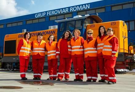 Grup Feroviar Roman a calificat si angajat prima sa generatie de femei - mecanic de locomotiva