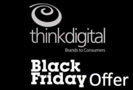 Thinkdigital, compania care vinde publicitate pentru Facebook, a lansat o oferta pentru Black Friday