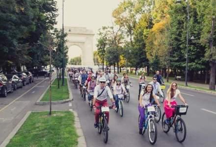 Marsul Biciclistilor, impotriva modului in care este administrata Capitala, are loc sambata, de la 15:30