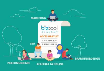 BizTool Academy, ultra-workshop-ul gratuit de o zi in care inveti cum sa ai o afacere digitala