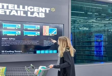 Cum foloseste Walmart Inteligenta Articifiala pentru a verifica stocul, data de expirare sau disponibilitatea caselor de marcat