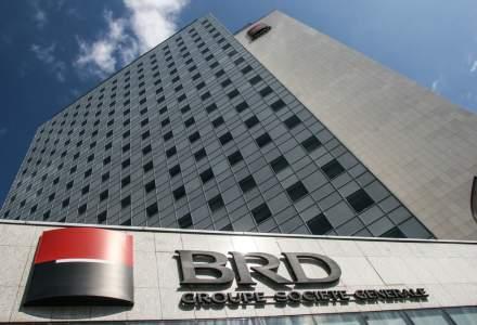 Profitul BRD scade cu 26% dupa ce depozitele si creditele au batut pasul pe loc