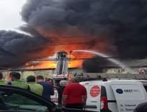 Incendiu urias langa Bucuresti