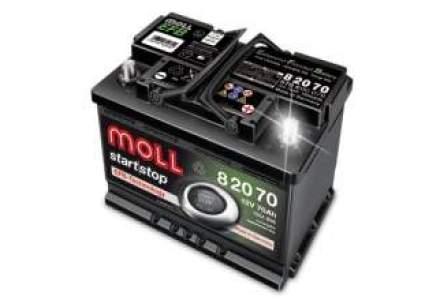 Brandul german de baterii auto Moll intra pe piata locala
