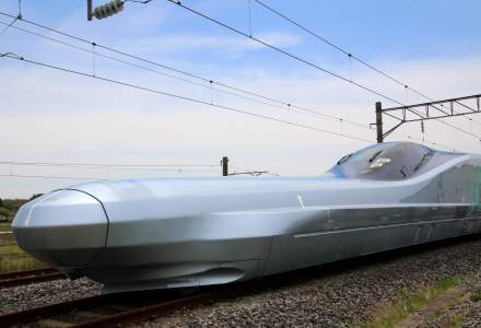 Japonia a testat un tren de mare viteza capabil sa ajunga la 360 de km/h