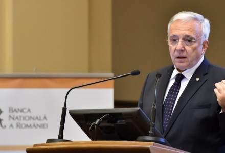 Mugur Isarescu: O inflatie de 4% in an electoral, cred ca e un lucru bun! Inflatia are rol de corectie, daca se da prea mult!