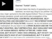 Tumblr cade victima...