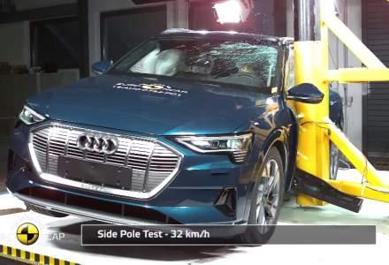 VIDEO: Cum se prezinta la accidente cele mai noi masini electrice si hibride testate de Euro NCAP