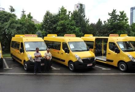 Proiect pilot al Primariei Capitalei pentru transportul elevilor la scoala