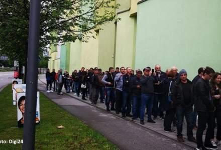 Europarlamentare 2019, votul in diaspora: Cozi de 2.000 de oameni, in Stuttgart