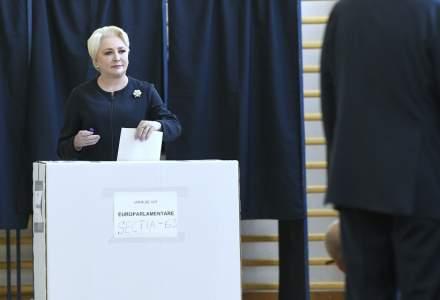 Viorica Dancila: Am votat pentru Romania si pentru romani la europarlamentare; nu am votat la referendum, intrucat Klaus Iohannis l-a politizat