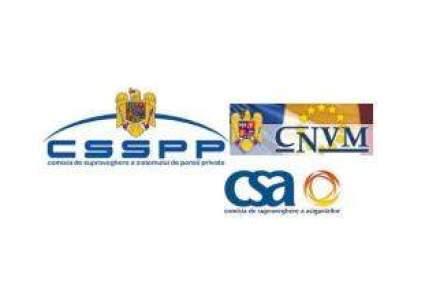 """Fuziunea"" dintre CNVM, CSSPP si CSA: ce probleme de supraveghere pot fi rezolvate"