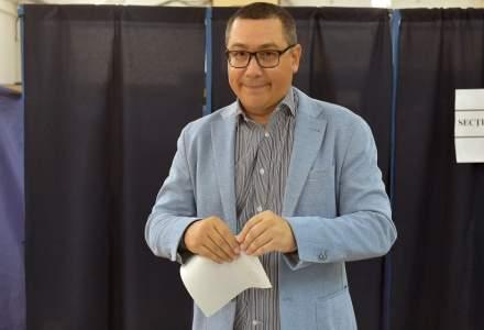 Victor Ponta: Daca vine multa lume la vot, o sa castige Romania