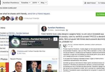 Seful PNTCD: Este FAKE NEWS ca am vrea sa inchidem Facebook! El uita un amanunt.