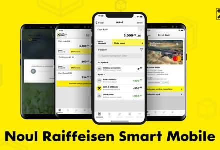 Raiffeisen Bank si-a lansat noile aplicatii de mobile banking si Internet banking