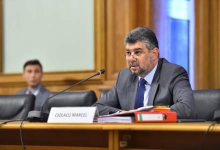 Marcel Ciolacu, noul presedinte al Camerei Deputatilor