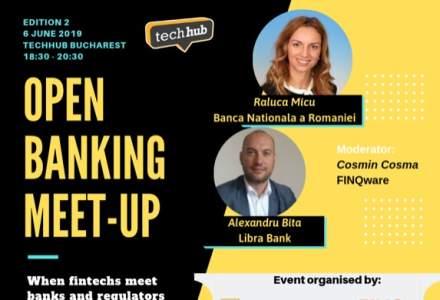 """Open Banking Meet-up continua cu o noua editie: Pe 6 iunie, un reprezentant BNR vine in mijlocul FinTech-urilor, chiar la ele """"acasa"""""""