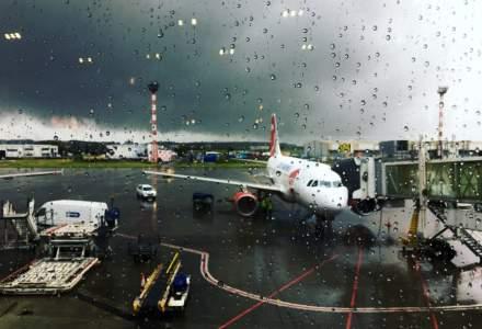 CNAB: Infiltratii de apa in terminalul de pasageri al Aeroportului International Henri Coanda
