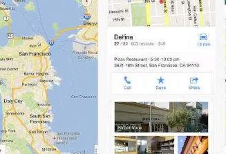 Google Maps intra iarasi pe iPhone, printr-o aplicatie proprie