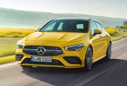 Familia AMG are un nou membru: Mercedes-AMG CLA 35 Shooting Brake produce 306 CP si accelereaza de la 0 la 100 km/h in 4.9 secunde