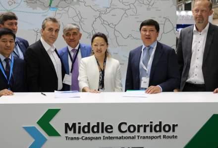 Grampet si kazahii de la Kazmortransflot bat palma pentru o colaborare ce deschide ruta Constanta - Batumi