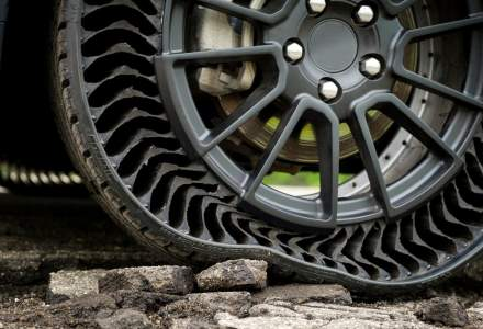 Michelin vrea sa aduca pe piata in 2024 anvelopele fara aer, care nu vor mai face pana - VIDEO
