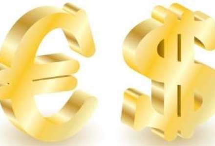 Finantele s-au imprumutat cu 13% mai mult in lei si cu 62% in valuta