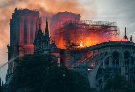 Prima slujba sustinuta la Notre-Dame de Paris dupa incendiul devastator de acum doua luni
