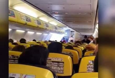Decolare ratata: Un avion Ryanair a franat brusc la 200 km/h