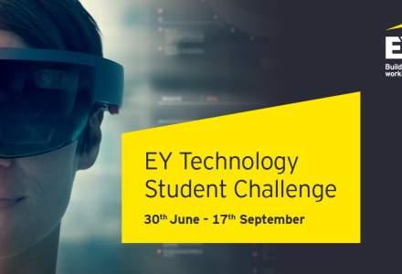 Premii in valoare de 9.000 de euro pentru studentii pasionati de tehnologie: EY Romania lanseaza Technology Student Challenge