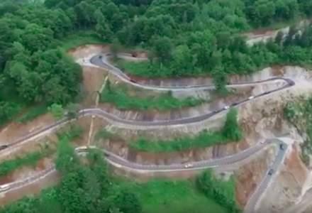 Romania are inca un drum spectaculos. A fost inaugurat Transluncani, un concurent pentru Transfagarasan si Transalpina