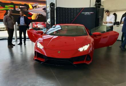Cum arata noul showroom Lamborghini de la Bucuresti. Investitia depaseste 400.000 euro