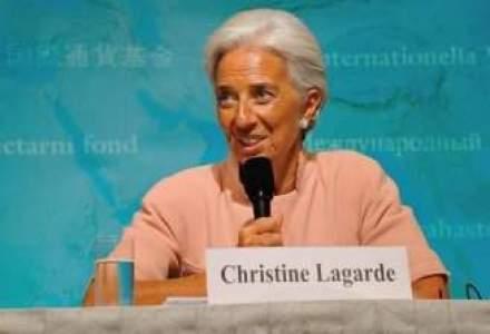 Lagarde: Datoriile SUA si problemele din Europa pot provoca o criza mondiala