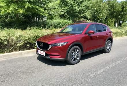 Test drive cu o Mazda de 40.000 euro: CX-5 in echiparea Takumi Plus