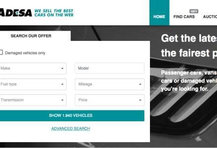 Site-ul de vanzari masini CarsOnTheWeb s-a rebranduit in Adesa Europe