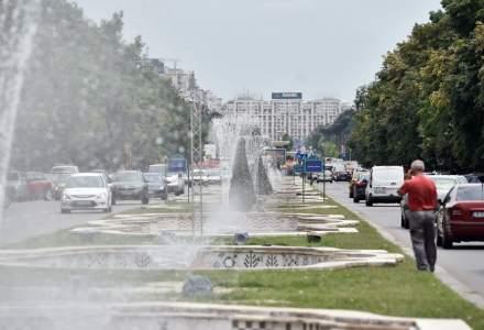 """""""Simfonia Apei"""" impune din nou restrictii de trafic in Capitala"""
