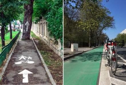 Bucuresti, exemplu NEGATIV privind pistele de bicicleta, in The Guardian