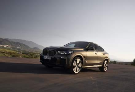 BMW prezinta a treia generatie a modelului BMW X6