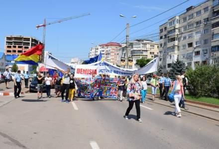 Proteste pentru infrastructura: astazi, Botosani